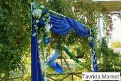 Свадебная арка и атрибутика