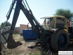 Экскаватор ЭО 2621, ковш-лопата