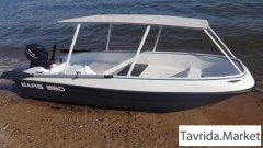 Моторная лодка и лодочный мотор + прицеп + тягач
