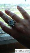 Кольцо- серебро.