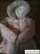 Зимняя куртка для девочки 2-3 года