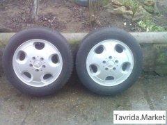 Мерседес вито 2 колеса