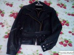 кожаная куртка, недорого.
