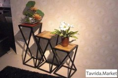 Мебель в стиле LOFT Металл+Дерево
