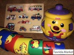 Развивающие игрушки б/у.
