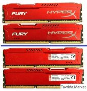 DDR3 Kingston HyperX FURY 2х4Гб 1866 MHz.