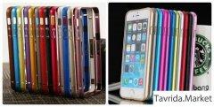 Алюминиевые рамки для айфона 4/4S, 5/5S, 6/6S.