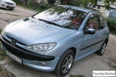 Peugeot 206,1 поколение [рестайлинг], хетчбэк 3 дв.