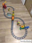 Lego Duplo, грузовой поезд.