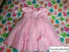 Платье 1 - 2 года, размер 2.