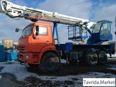 Автовышка ВИПО-32-01 на базе КамАз 43118