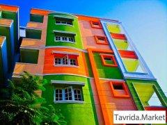 Окраска зданий, сооружений