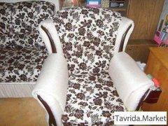 Ремонт мягкой мебели, изг. полок, пристенные столики.