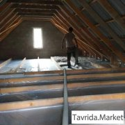 Утепление перекрытия потолков