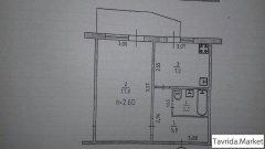 1-К  4-этаж , 33м/кв Промбаза