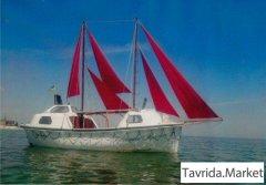 Прогулочное судно. Постройка Голландия.