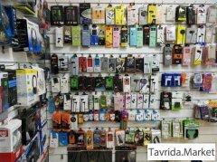 Магазин по продаже телефонов и аксессуаров.