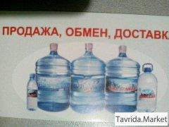 Доставка воды 19л