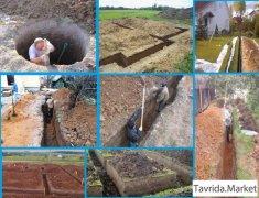 демонтаж, строительные работы, копка