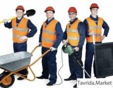рабочие бетонщики