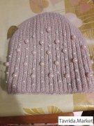 Женские шапки с натур бубонами