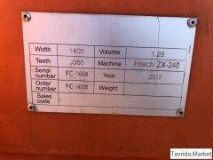 Ковш для экскаватора HITACHI ZX240 1,25 КУБА . В ИСПОЛЬЗОВАНИИ НЕ БЫЛ