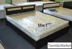 Новая кровать с матрасом в комплекте