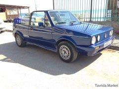 Volkswagen Golf 1 поколение, кабриолет 2 дв.