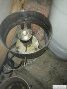 Аппарат для сахарной ваты газовый