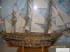Полноценная копия мятежного корабля «Баунти».