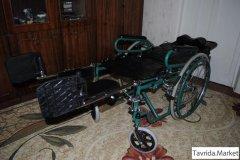 Новое инвалидное кресло-коляска-лежак
