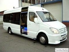 Микроавтобусы в Крыму. Пассажирские перевозки. Симферополь, Ялта.