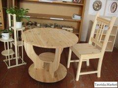 Стулья, табуреты, лавочки, столы на заказ.
