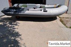 Надувная лодка лоцман пвх М350