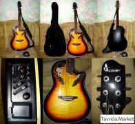 Электроакустическая гитара в отличном состоянии