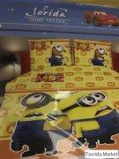 Комплект детского постельного белья, САТИН