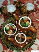Чайный керамический набор