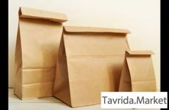 Продажа бумажных крафт пакетов