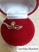 Золотое кольцо,585 пробы,арт. 2694/1 (977)