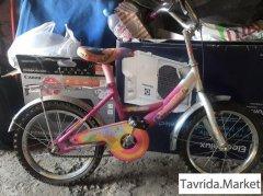 детский велосипед,для девочки