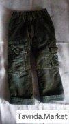 Теплые джинсы на мальчика 98-104 см