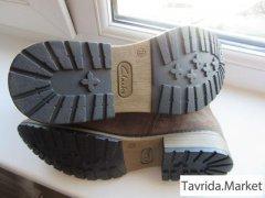 Новые ботинки Clarks - кожа