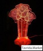 Ночник светильник с 3D эффектом