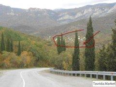 ЮБК 16 км Алушта-Судак лес, горы