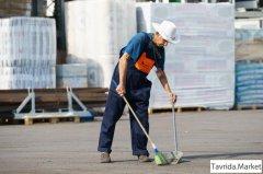 Требуется уборщик производственных помещений и территории