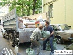 Вывоз в строительного мусора, хлама, старой мебели