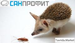 Дезинфекция, дезинсекция, дератизация в Севастополе