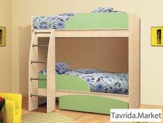 Детская Омега-4 (двухъярусная кровать)