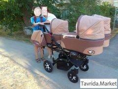 Детская коляска для тройни Babyactive Trippy 3in1