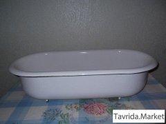 Ванночка детская эмалированная